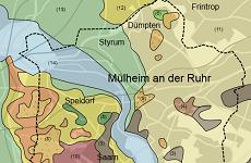 Geologische Karte Ruhrgebiet.Geologie Digital Regionale Geologie Erdgeschichte